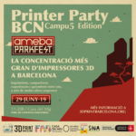 Printer Party Barcelona 2019 5ª Edicion