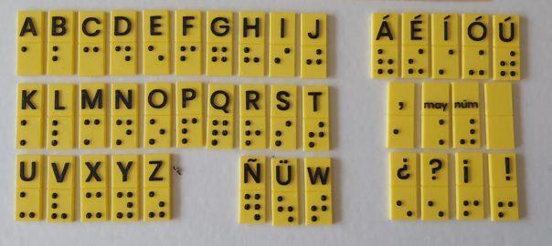 Fichas Braille Tinta en 3d